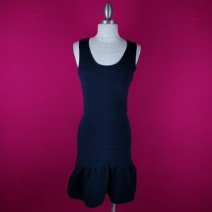 Sandro Paris size 2 Navy bodycon dress
